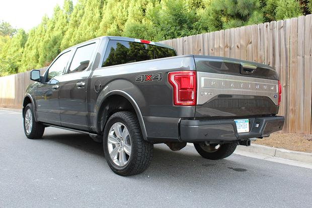 2015 Ford F-150 Platinum FX4 Start Up, Test Drive, and In Depth ...
