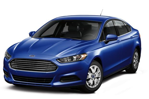 2013 Ford Fusion: Trim Level Comparison