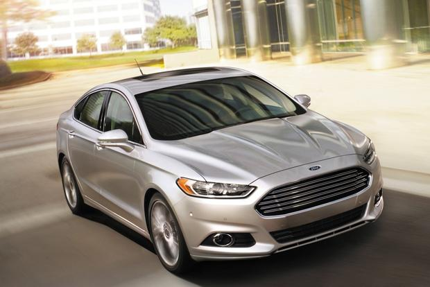 2014 ford fusion new car review autotrader. Black Bedroom Furniture Sets. Home Design Ideas