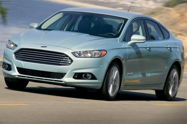 2014 Ford Fusion Hybrid Green 200 Interior And Exterior Images