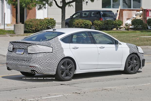 High-Performance Ford Fusion ST Spied With Camouflage? featured image large thumb2