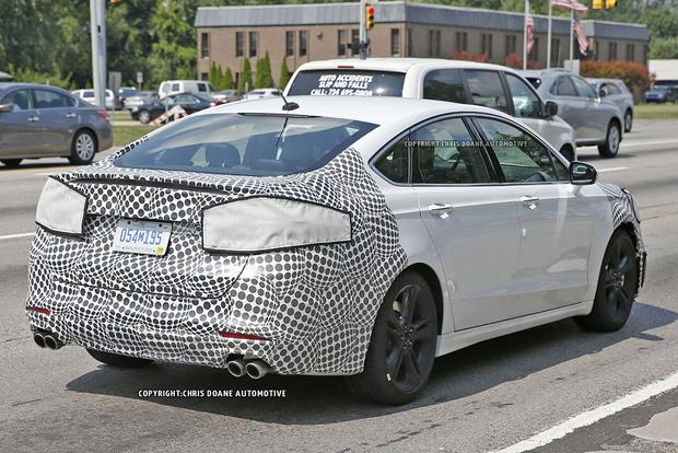 High-Performance Ford Fusion ST Spied With Camouflage? featured image large thumb3