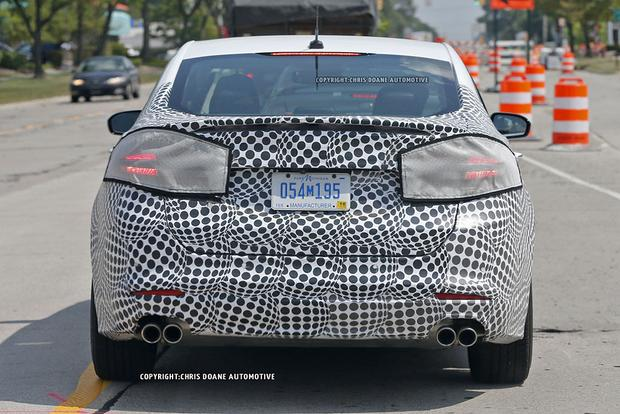 High-Performance Ford Fusion ST Spied With Camouflage? - Autotrader
