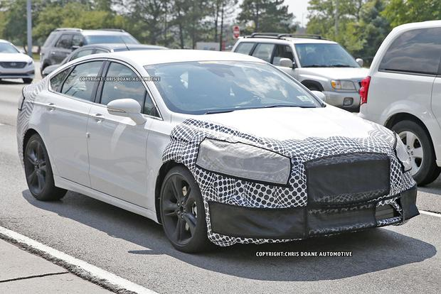 High-Performance Ford Fusion ST Spied With Camouflage? featured image large thumb0
