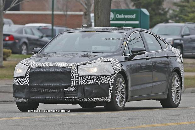 2017 Ford Fusion Teased in New Photos featured image large thumb0