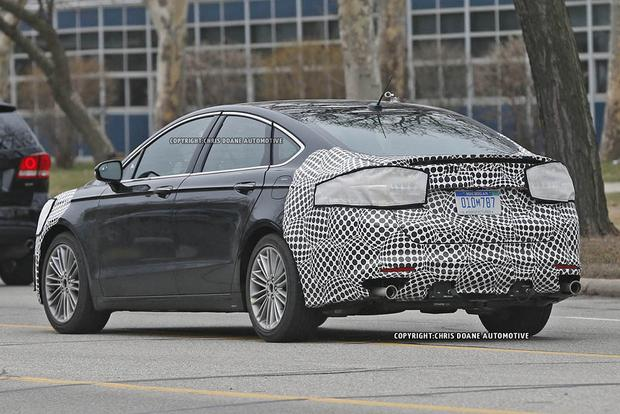 2017 Ford Fusion Teased in New Photos featured image large thumb9
