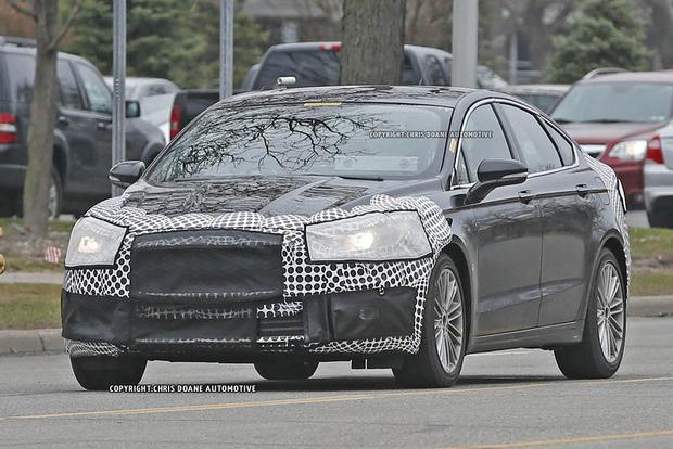2017 Ford Fusion Teased in New Photos featured image large thumb10