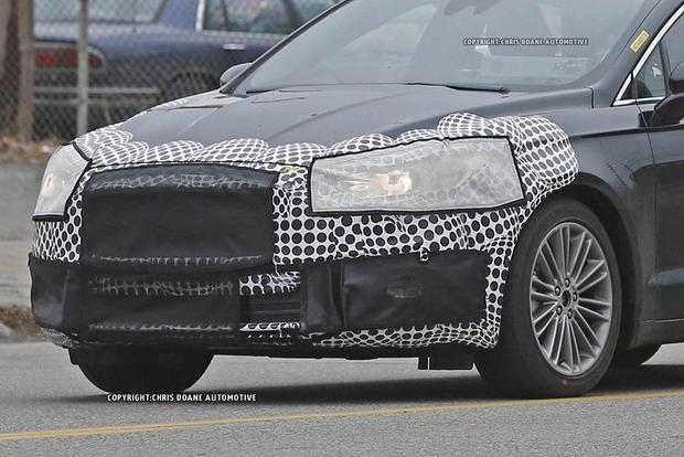 2017 Ford Fusion Teased in New Photos featured image large thumb1