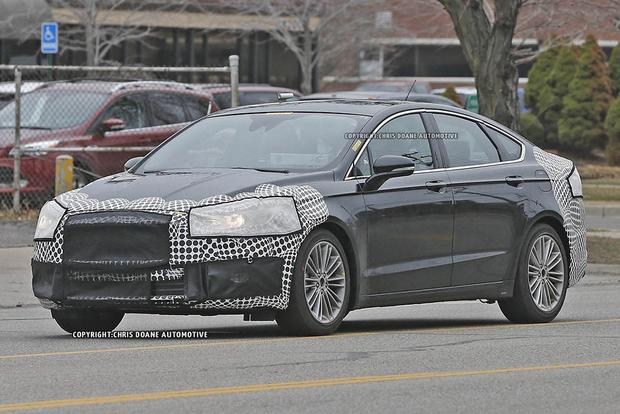 2017 Ford Fusion Teased in New Photos featured image large thumb2
