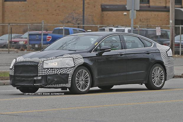 2017 Ford Fusion Teased in New Photos featured image large thumb3