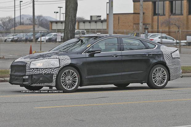 2017 Ford Fusion Teased in New Photos featured image large thumb4