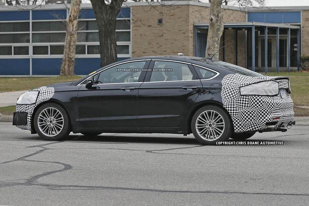 2017 Ford Fusion Teased in New Photos featured image large thumb6