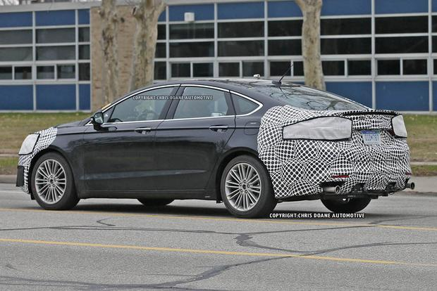 2017 Ford Fusion Teased in New Photos featured image large thumb7