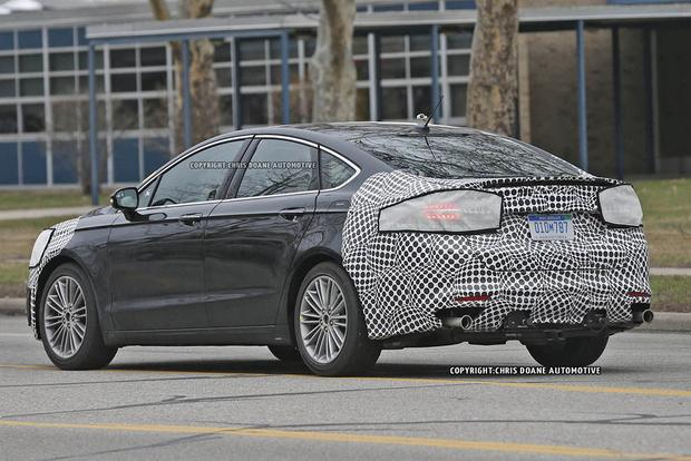 2017 Ford Fusion Teased in New Photos featured image large thumb8
