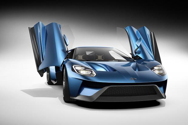 Ford Gt A Supercar Designed For Super Tech Autotrader