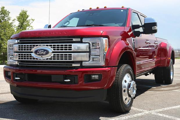 2017 Ford F Series Super Duty First Drive Review Autotrader