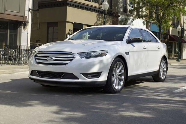 2016 ford taurus new car review autotrader. Black Bedroom Furniture Sets. Home Design Ideas