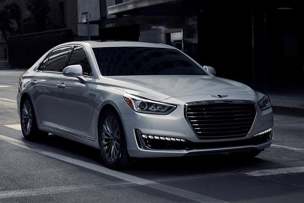 2018 Genesis G90: New Car Review featured image large thumb0