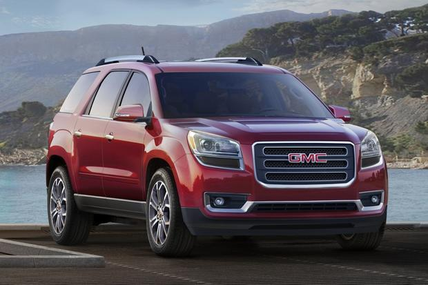 2015 GMC Acadia: New Car Review featured image large thumb0