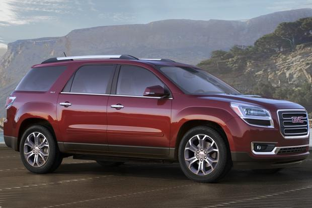 2015 GMC Acadia vs. 2015 Buick Enclave: What's The Difference? - Autotrader