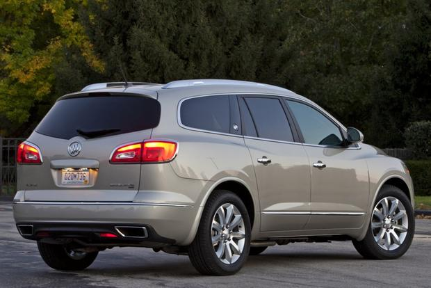 2014 buick enclave vs 2014 gmc acadia compare reviews. Black Bedroom Furniture Sets. Home Design Ideas
