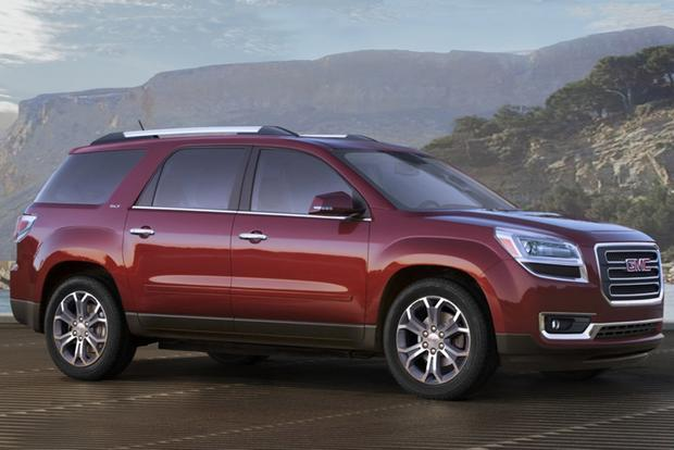 2015 GMC Acadia vs. 2015 Chevrolet Traverse: What's The Difference? - Autotrader