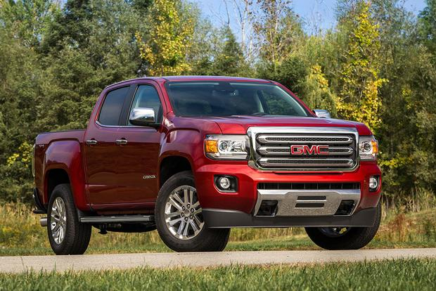 2018 gmc canyon new car review autotrader. Black Bedroom Furniture Sets. Home Design Ideas
