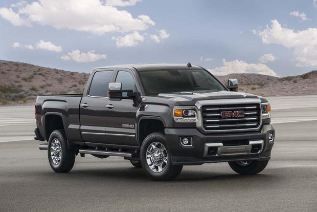 2016 gmc sierra 2500hd new car review autotrader. Black Bedroom Furniture Sets. Home Design Ideas