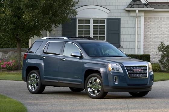 2013 GMC Terrain: New Car Review featured image large thumb1