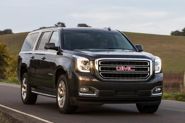 2013 gmc yukon yukon hybrid and yukon xl new car review. Black Bedroom Furniture Sets. Home Design Ideas