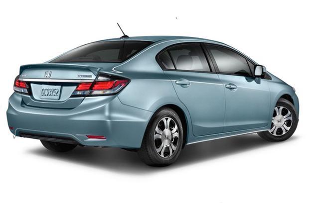 2014 Honda Civic Hybrid New Car Review Autotrader
