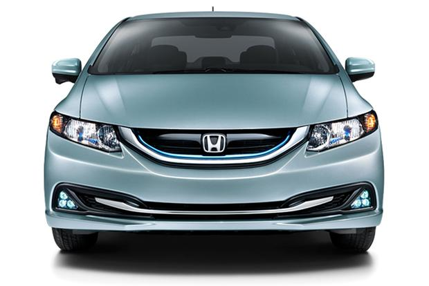 2015 honda civic hybrid new car review autotrader for Honda car app