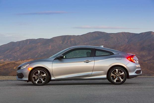 2016 honda civic coupe first drive review autotrader. Black Bedroom Furniture Sets. Home Design Ideas