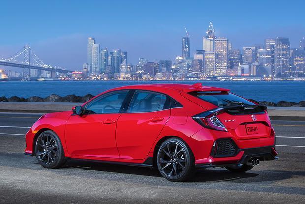 2017 Honda Civic Hatchback Vs Civic Sedan What S The