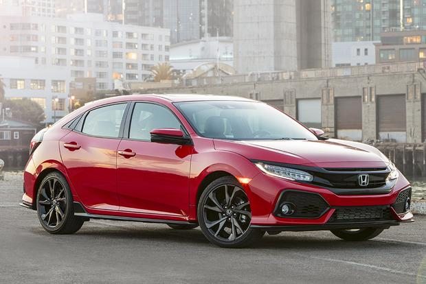 2017 Honda Civic Hatchback Vs Civic Sedan What S The Difference