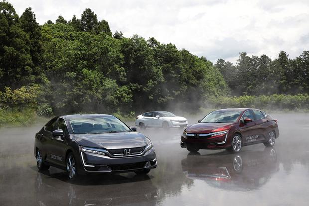 2017 Honda Clarity: One Model, Three Advanced Drivetrains