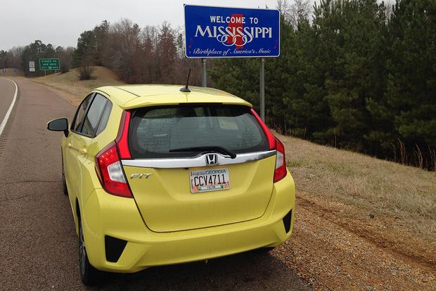 2015 Honda Fit: Road Trip to Mississippi featured image large thumb2