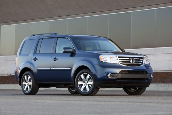 Honda Tweaks Pilot SUV for 2012 featured image large thumb1