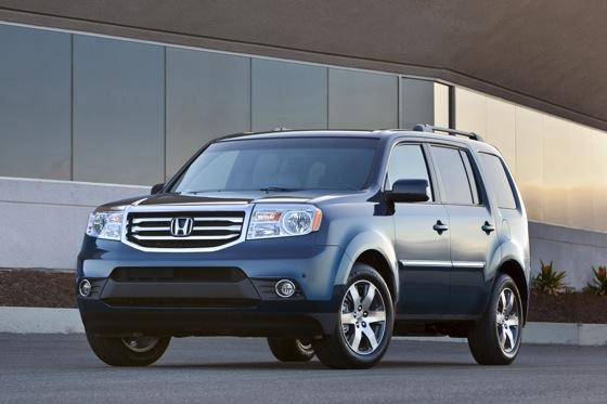 Honda Tweaks Pilot SUV for 2012 featured image large thumb2