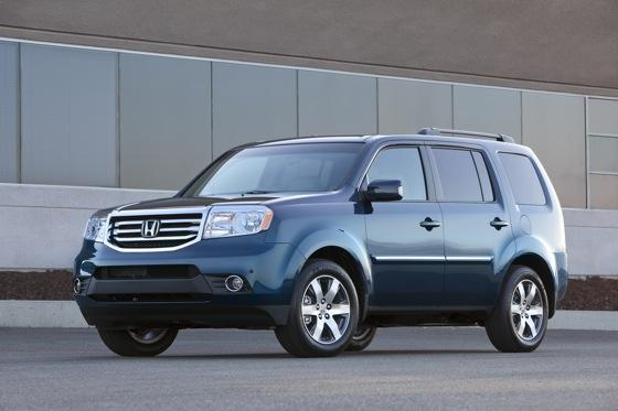 Honda Tweaks Pilot SUV for 2012 featured image large thumb3