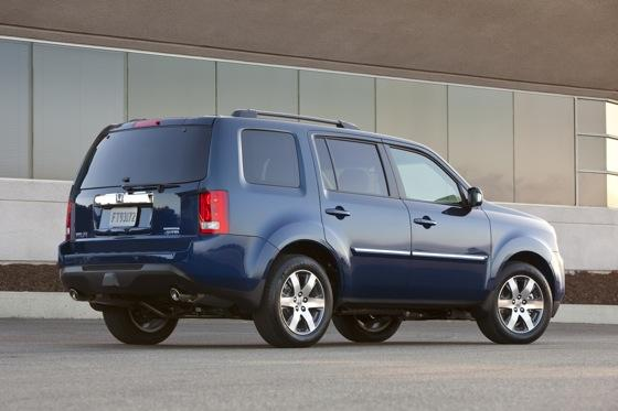 Honda Tweaks Pilot SUV for 2012 featured image large thumb4