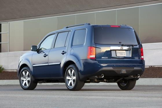 Honda Tweaks Pilot SUV for 2012 featured image large thumb5