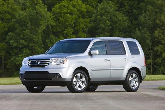 Honda Tweaks Pilot SUV for 2012 featured image large thumb11