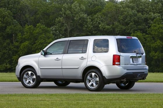 Honda Tweaks Pilot SUV for 2012 featured image large thumb12