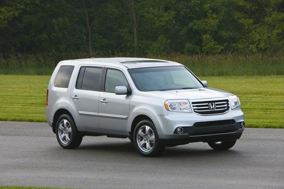 Honda Tweaks Pilot SUV for 2012 featured image large thumb15