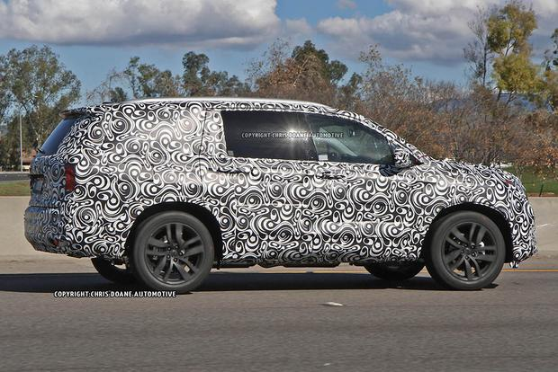 2016 Honda Pilot Spied Ahead of Official Launch featured image large thumb3