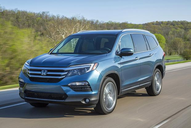 Honda Pilot 2018 >> 2018 Honda Pilot New Car Review Autotrader