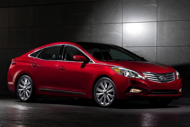 2014 hyundai azera new car review autotrader. Black Bedroom Furniture Sets. Home Design Ideas