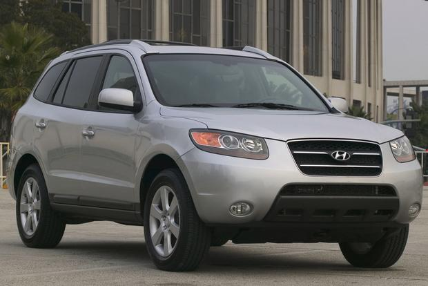 2007 2012 hyundai santa fe used car review autotrader. Black Bedroom Furniture Sets. Home Design Ideas