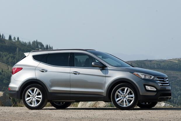 2014 hyundai santa fe new car review autotrader. Black Bedroom Furniture Sets. Home Design Ideas